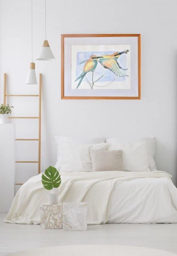 European Bee-Eaters Print